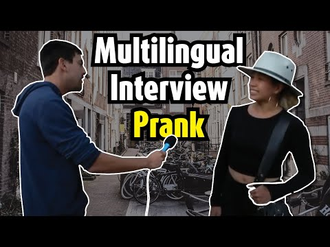 Interviewing people in their own language in Amsterdam