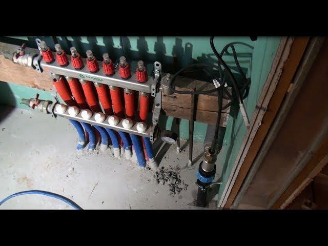 Канализация и водоснабжение загородного дома для Forumhouse. Часть 1