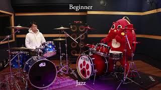 "Video thumbnail of ""Professional Vs Beginner Drummer (Feat. Nyango Star)"""