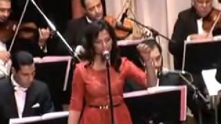 هجرتك يمكن انسى هواك - غناء الفنانة رحاب عمر - كلثوميات الاوبرا المصرية 22/10/2014