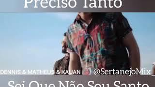 DJ Dennis | Matheus & Kauan Feat MC Koringa   Eu Te Amo Tanto