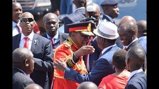 Uhuru, Raila formulate joint political rally strategy