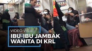 Kronologi Video Viral Ibu-ibu Berlaku Kasar kepada Seorang Wanita di Commuter Line