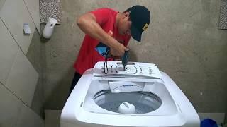 Lavadora eletrolux lbu15 não Liga -Como trocar a Placa de Comando
