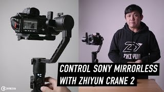 Control Sony Mirrorless with Zhiyun Crane 2 tip by Chung Dha