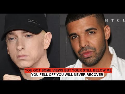 Drake RESPONDS to Eminem 'Fell off Youll Never RECOVER' Allegedly, Recorded Before Sway Interview?