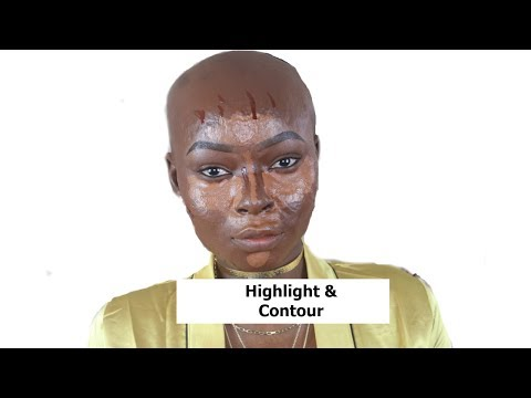 Contouring Powder by black Up #8