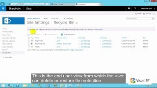 How to Delete a Site in SharePoint 2016