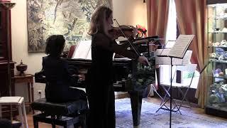 Duo de Dvorak avec Francina Moll Salord