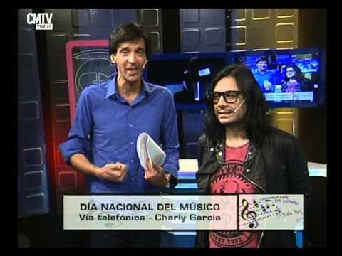 Charly García video Entrevista Telefónica - Día del Músico 2016