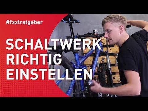Fahrrad-Schaltung perfekt einstellen - MTB