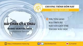 CHƯƠNG TRÌNH PHÁT THANH, THỨ BẢY 18012020