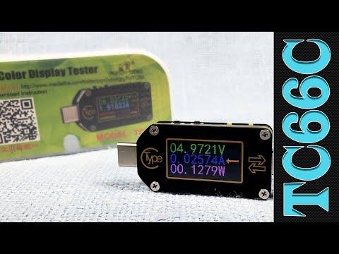 ⇄ TC66C: USB Type-C тестер с QC/PD-триггером и детектором режимов быстрой зарядки. Так ли он хорош?