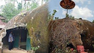 Viral Rumah Bentuk Batu di Wonogiri seperti di Film Spongebob, Lihat Isi Rumahnya