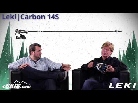 2015 Leki Carbon 14 Trigger S Ski Pole Overview by SkisDOTcom
