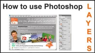 How To Use Photoshop Layers Pt. 1