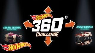 Hot Wheels 360° Challenge #1: Rip Rod™ vs. Twinduction®   Hot Wheels