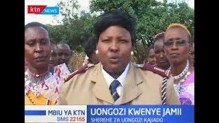 Wanaume wamasai wakubaliana kuwaunga mkono viongozi wanawake
