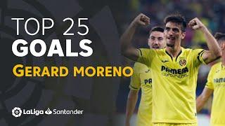 TOP 25 GOALS Gerard Moreno en LaLiga Santander