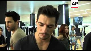Model David Gandy Talks About Book, Working For Dolce And Gabbana