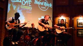 "12 Stones ""The Way I feel"" LIVE Hard Rock Memphis"