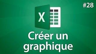 Excel 2016 - Créer Un Graphique Rapide Simplement - Tuto #28