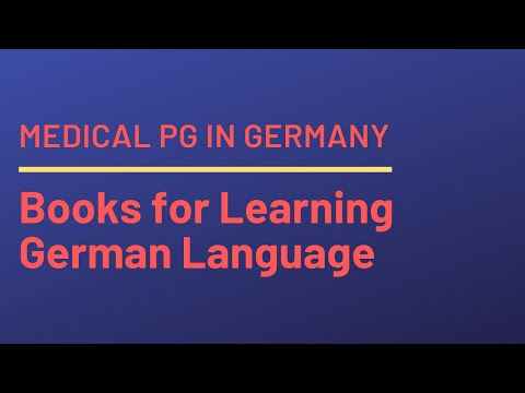 Books for Learning German Language