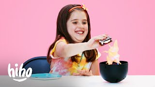 Kids Try Strange S'Mores | Outdoor Series | HiHo Kids