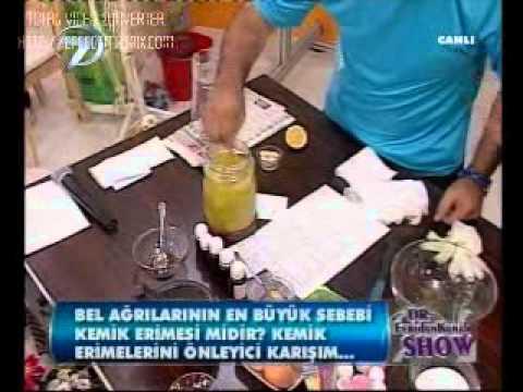 Dr. Feridun Kunak Show 8 Eylül B5 (Kemik Erimesine Karşı Bitkisel Karışım 2) mp3 yukle - mp3.DINAMIK.az