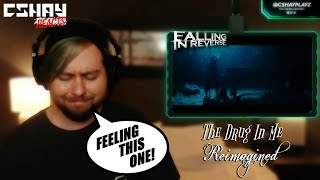 Shay Reacts   Falling In Reverse - The Drug In Me Reimagined REACTION
