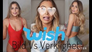 Bild vs Verklighet - Wish bikinis och baddräkter