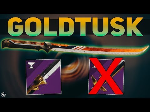 GoldTusk Sword Review (Is this better than Throne-Cleaver?) | Destiny 2 Season of Opulence