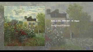 Suite in D minor, HWV 437