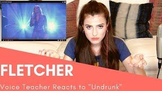 Voice Teacher Reacts to Fletcher - Undrunk