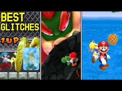 Max Score, Coins and Lives | Top 10 Glitches in Mario Games