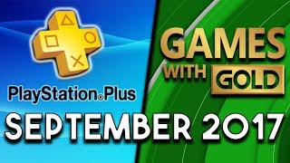PlayStation Plus VS Xbox Games With Gold (September 2017)