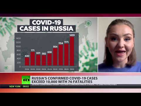 COVID-19 cases in Russia soar exceeding 10,000