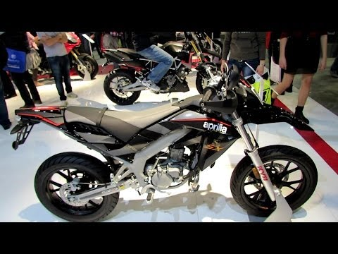 2014 Aprilia SX50 Limited Walkaround - 2013 EICMA Milan Motorcycle Exhibition