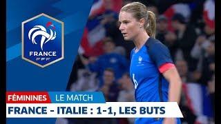 France 1-1 Italie Féminines