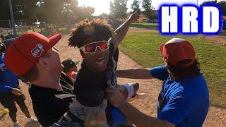 GABE BREAKS THE SCOREBOARD IN HOME RUN DERBY! | On-Season Softball Series