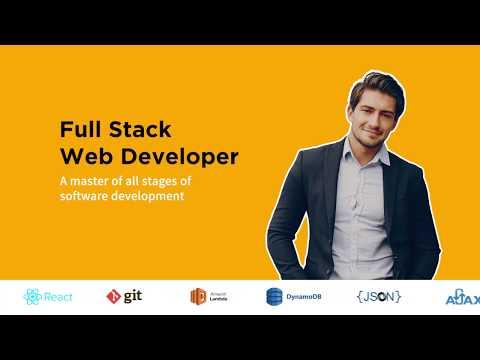 Full stack web developer course   Crampete - YouTube