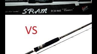 Tict sram tcr-90s cannon обзор спиннинга