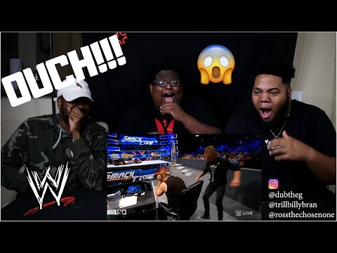 WWE Best Moves of 2018 [1/4] - REACTION