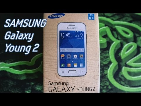 SAMSUNG GALAXY YOUNG 2 UNBOXING