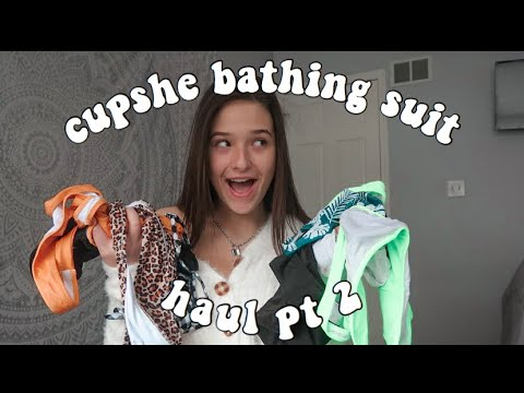 ♡cupshe blue try on haul♡