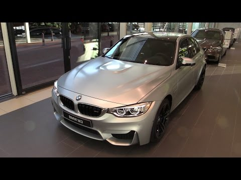 BMW M3 2017 Start Up, In Depth Review Interior Exterior