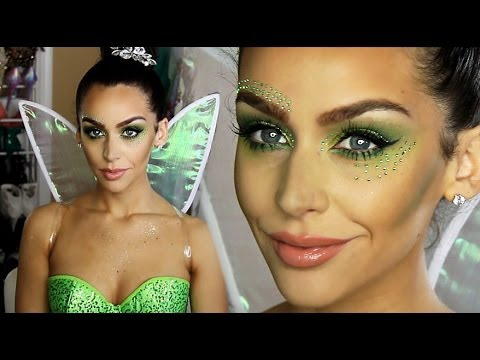 Tinkerbell 'Fairy' Halloween Makeup Tutorial!