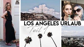LOS ANGELES Reise Vlog #1 | Hollywood Boulevard, Runyon Canyon, Amoeba Music