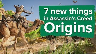 7 new things in Assassin's Creed Origins