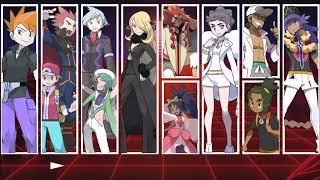 Pokemon - All Champion Battle Themes (Generations 1 - 8)
